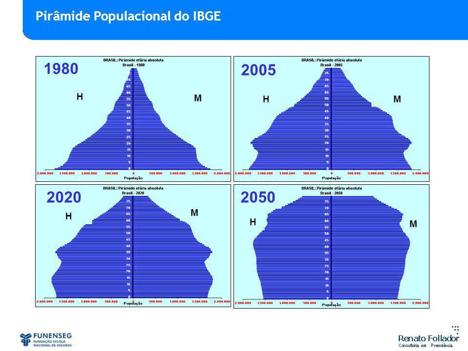 Pirâmide Populacional do IBGE