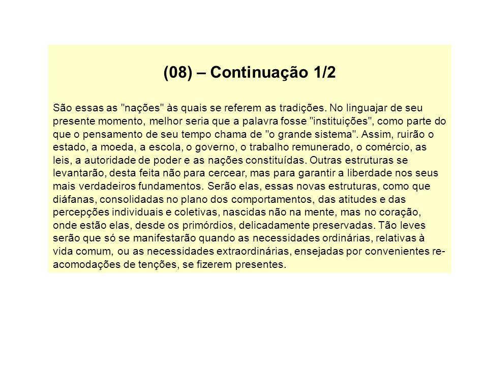 (08) – Continuação 1/2