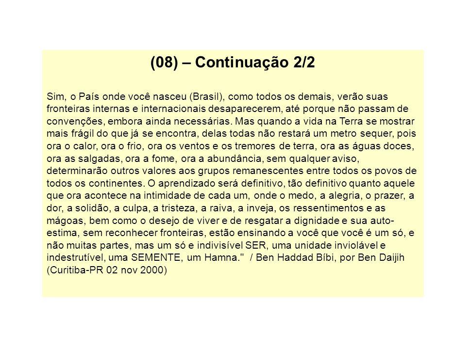 (08) – Continuação 2/2