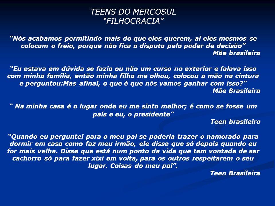 TEENS DO MERCOSUL FILHOCRACIA