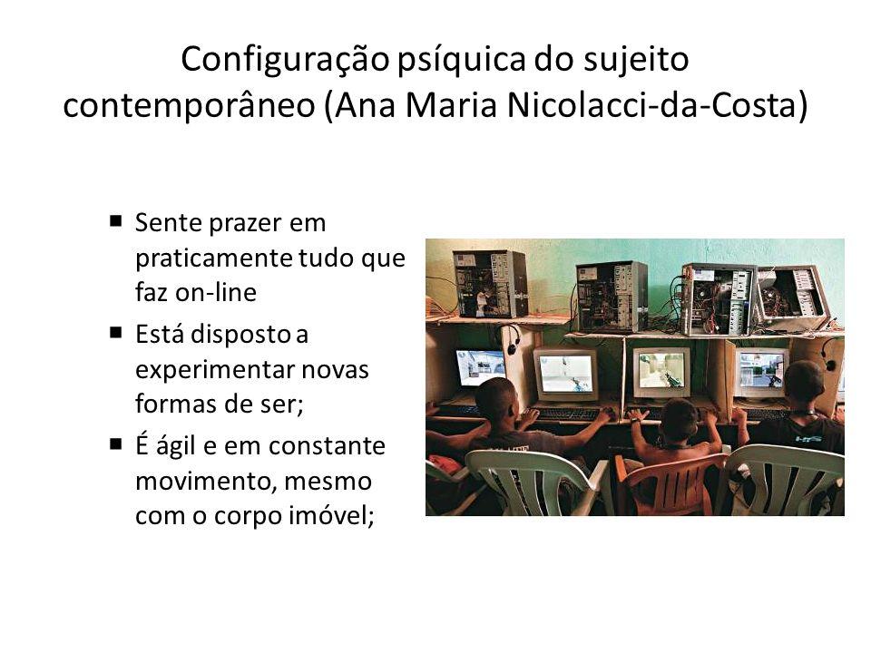 Configuração psíquica do sujeito contemporâneo (Ana Maria Nicolacci-da-Costa)
