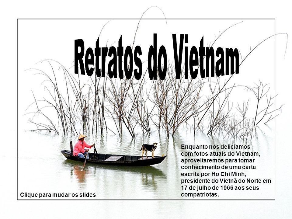 Retratos do Vietnam Enquanto nos deliciamos