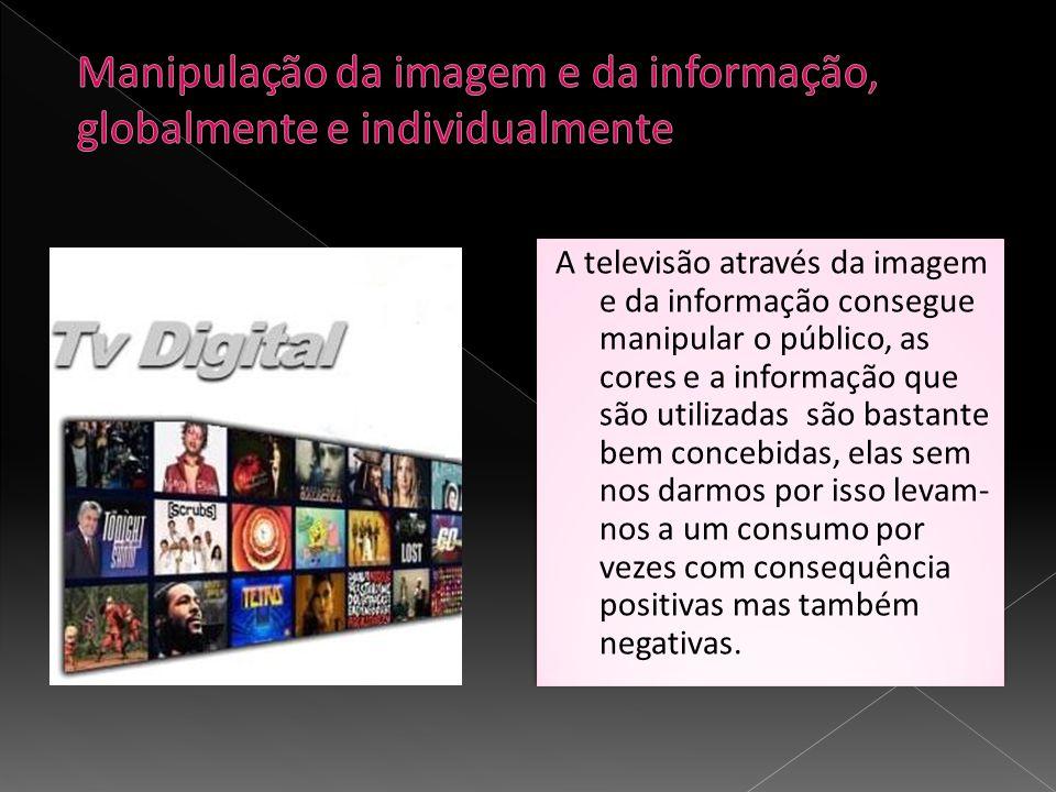 Manipulação da imagem e da informação, globalmente e individualmente