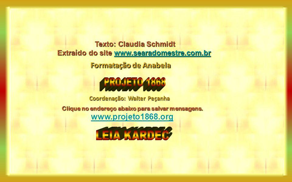 PROJETO 1868 LEIA KARDEC Formatação de Anabela www.projeto1868.org