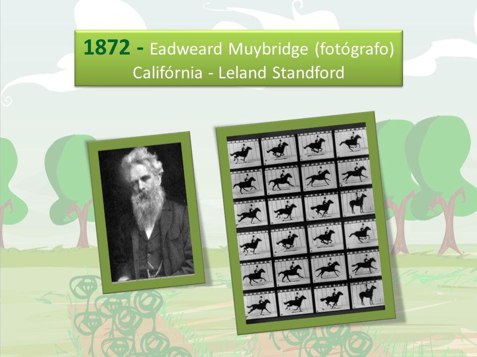 1872 - Eadweard Muybridge (fotógrafo)