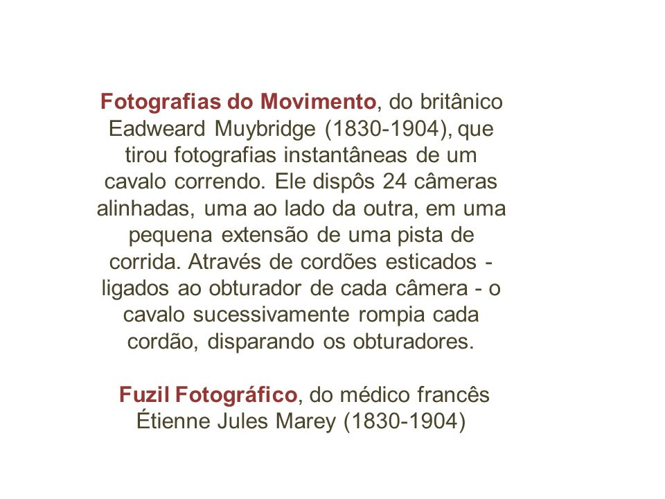 Fuzil Fotográfico, do médico francês Étienne Jules Marey (1830-1904)
