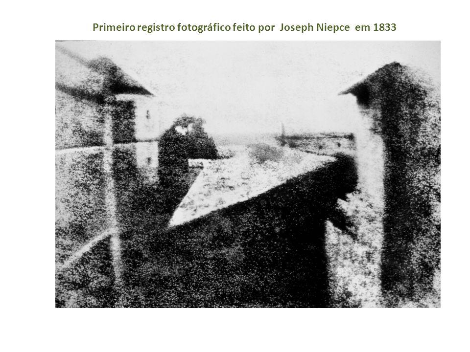 Primeiro registro fotográfico feito por Joseph Niepce em 1833
