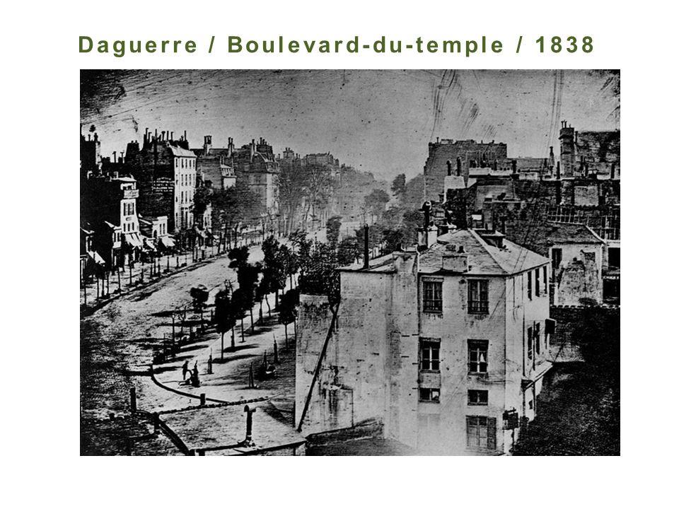 Daguerre / Boulevard-du-temple / 1838