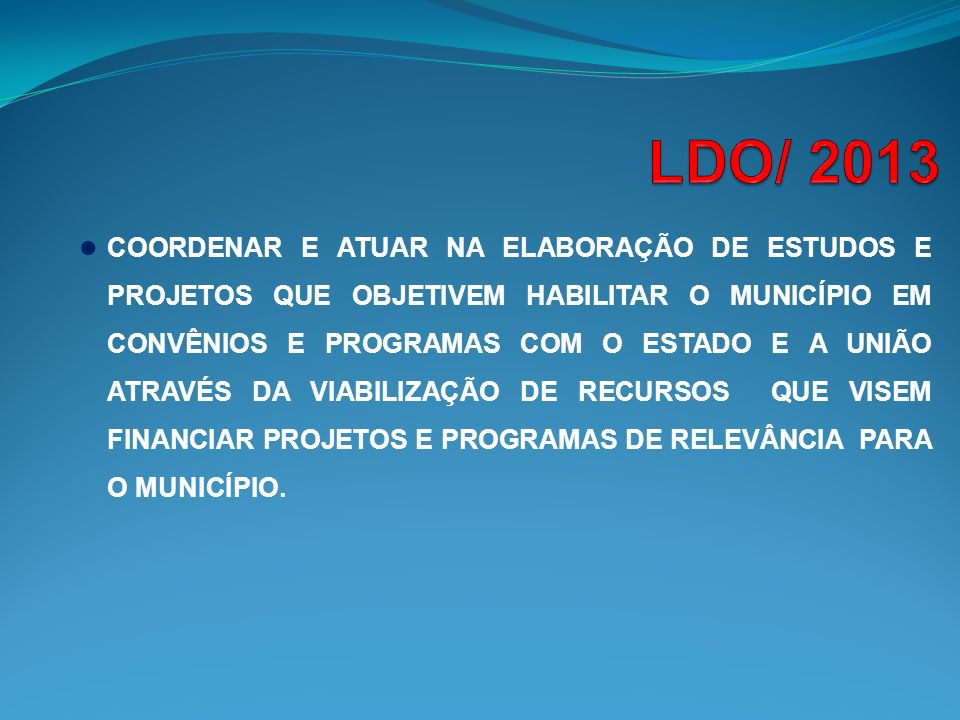 LDO/ 2013