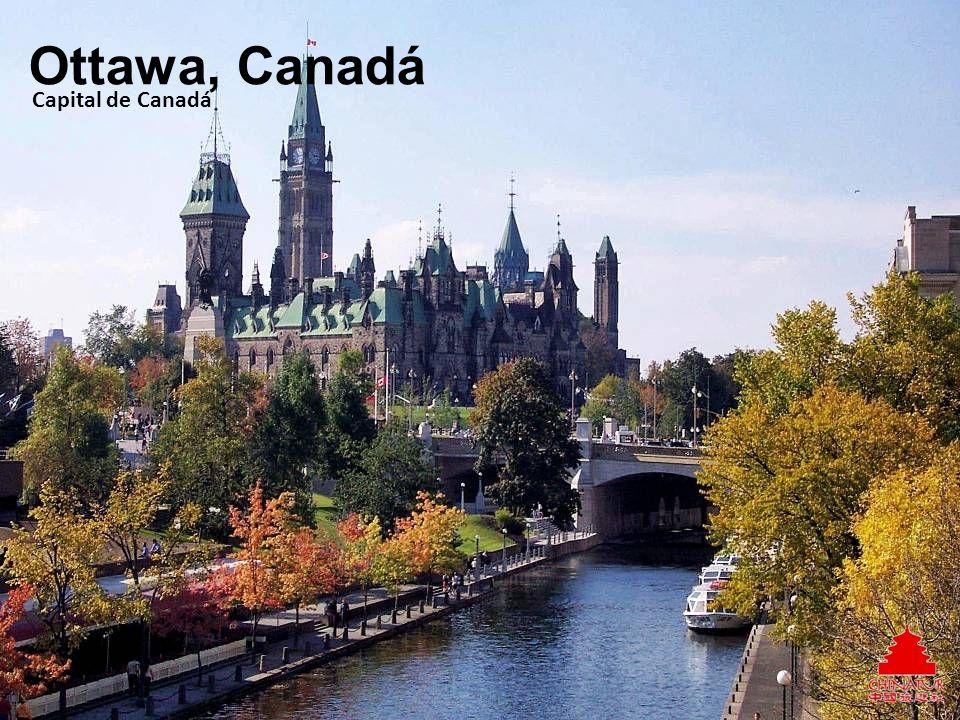 Ottawa, Canadá Capital de Canadá