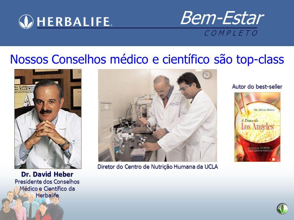Nossos Conselhos médico e científico são top-class