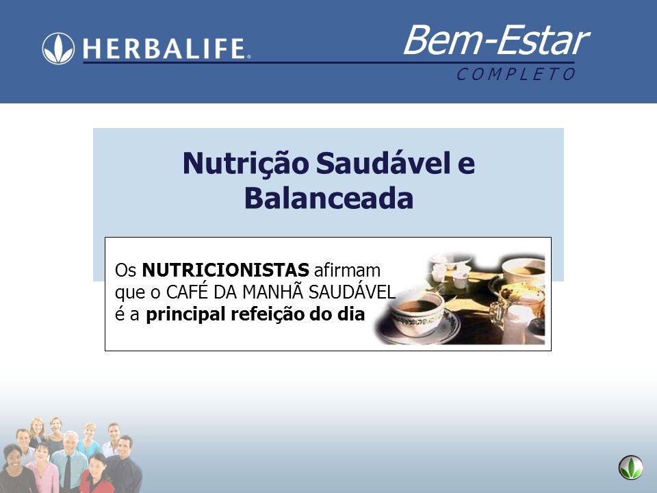 Nutrição Saudável e Balanceada