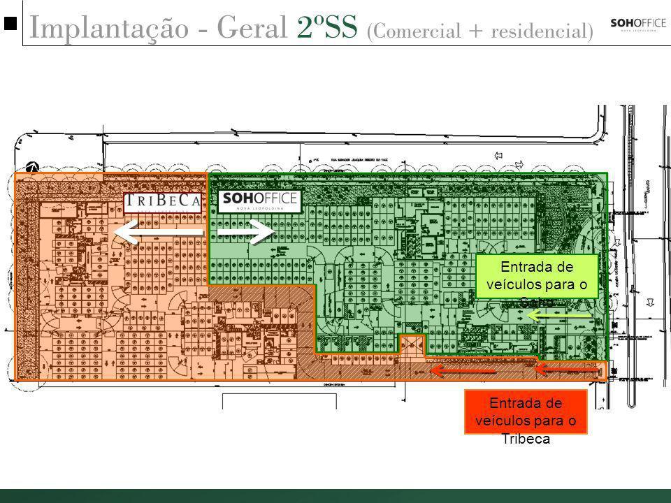 Implantação - Geral 2ºSS (Comercial + residencial)