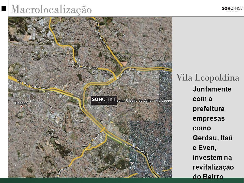 Macrolocalização Vila Leopoldina