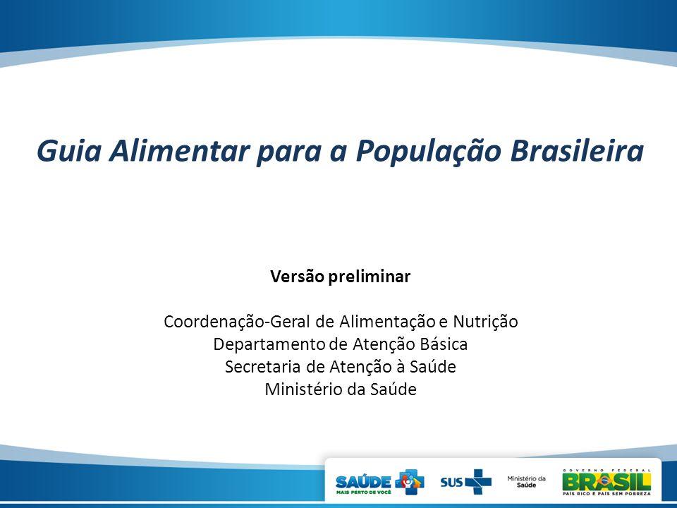 Guia Alimentar para a População Brasileira