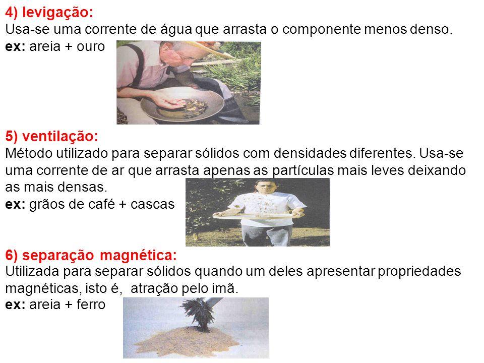 6) separação magnética: