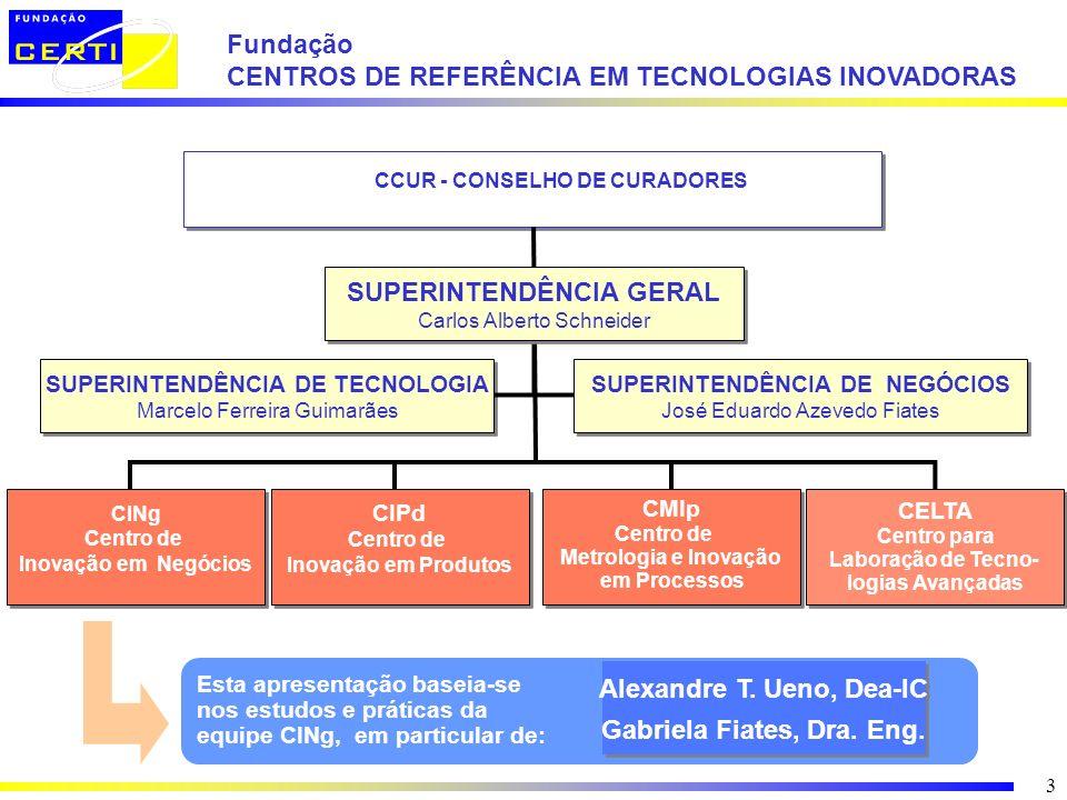 CENTROS DE REFERÊNCIA EM TECNOLOGIAS INOVADORAS