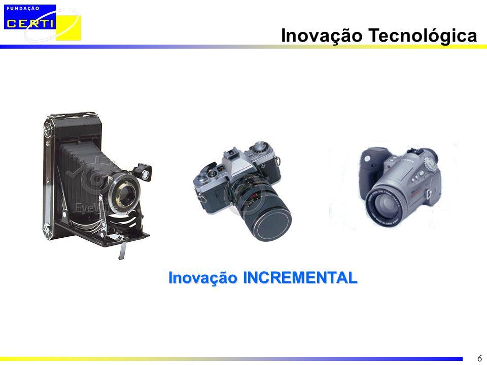 Inovação Tecnológica Inovação INCREMENTAL