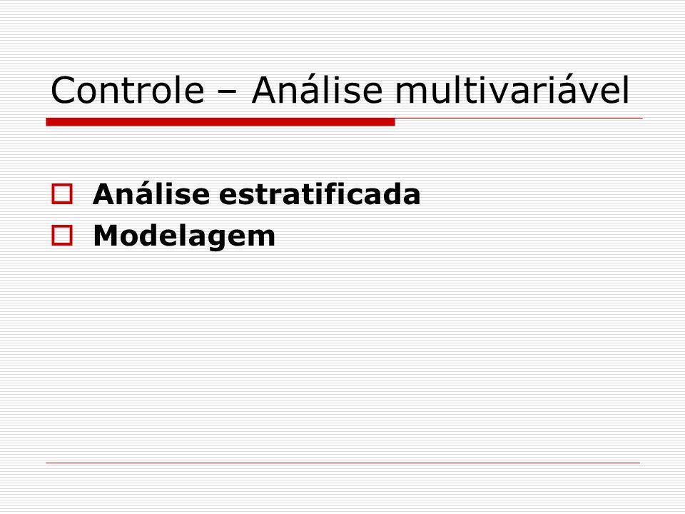 Controle – Análise multivariável