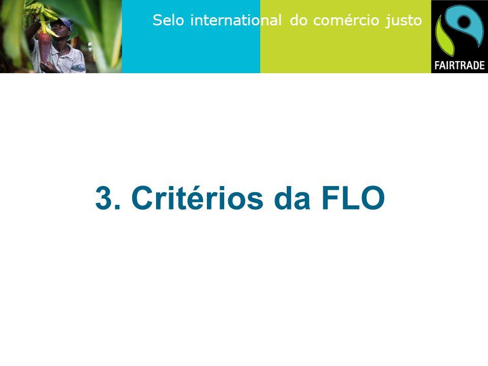 3. Critérios da FLO