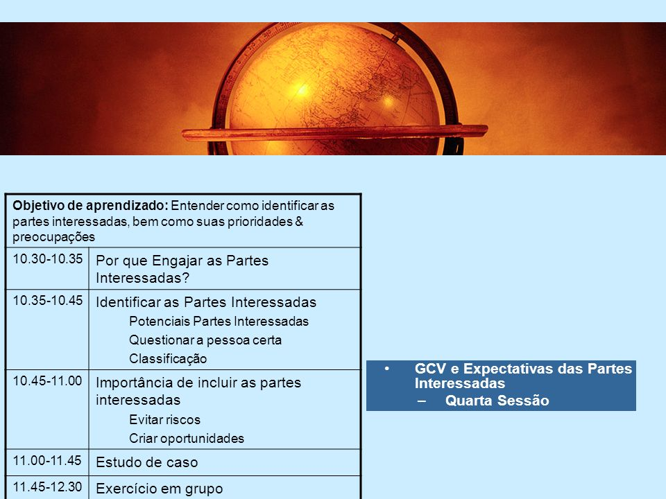 Por que Engajar as Partes Interessadas