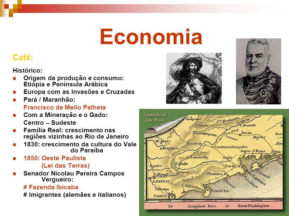 Economia Café: Histórico: