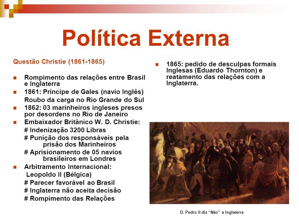 Política Externa Questão Christie (1861-1865)