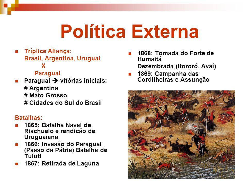 Política Externa Tríplice Aliança: 1868: Tomada do Forte de Humaitá