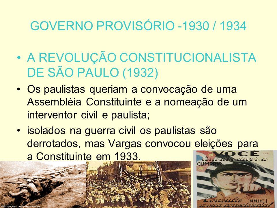 A REVOLUÇÃO CONSTITUCIONALISTA DE SÃO PAULO (1932)