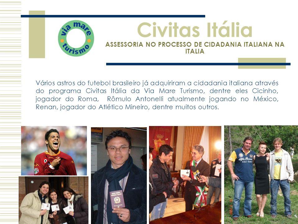 Civitas Itália ASSESSORIA NO PROCESSO DE CIDADANIA ITALIANA NA ITALIA