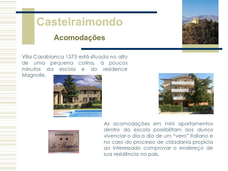 Castelraimondo Acomodações