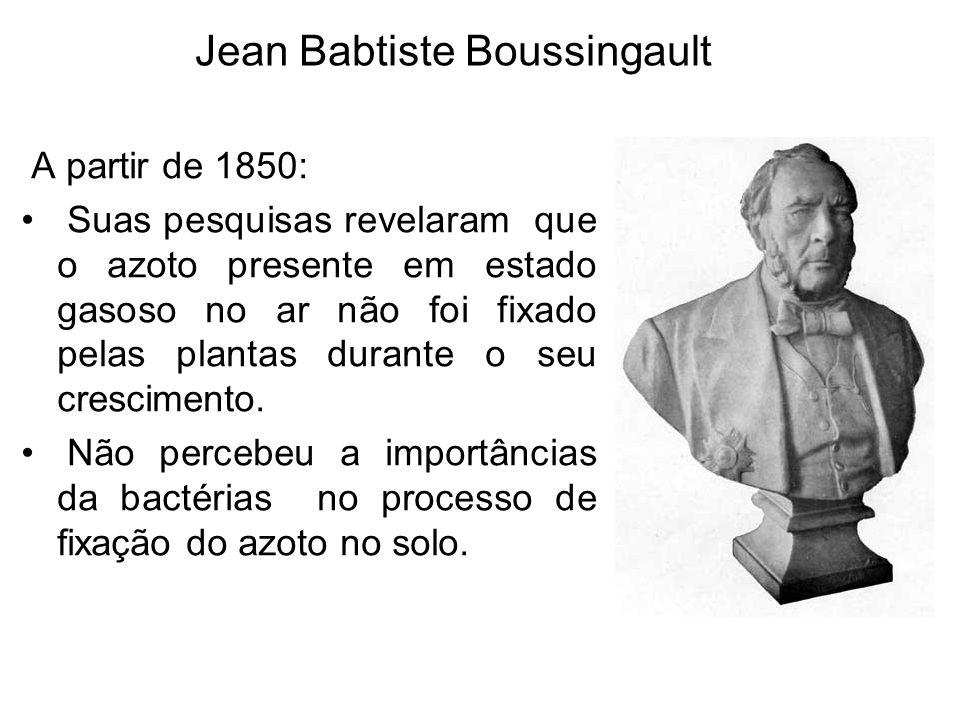 Jean Babtiste Boussingault