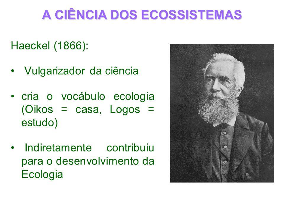 A CIÊNCIA DOS ECOSSISTEMAS