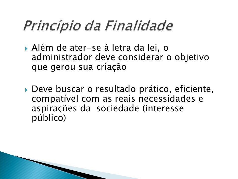 Princípio da Finalidade
