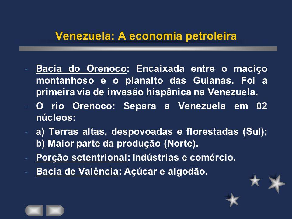 Venezuela: A economia petroleira