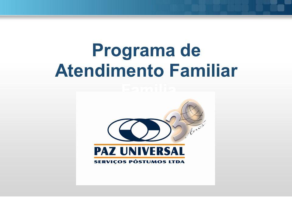 Programa de Programa de Atendimento Familiar Familia