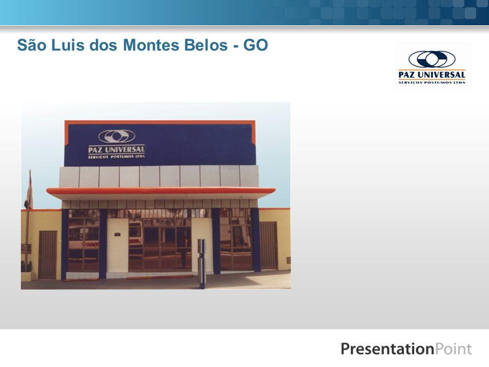 São Luis dos Montes Belos - GO