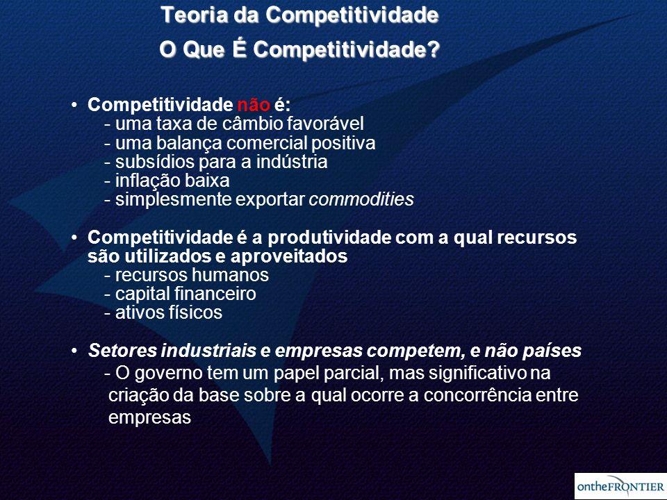 Teoria da Competitividade O Que É Competitividade