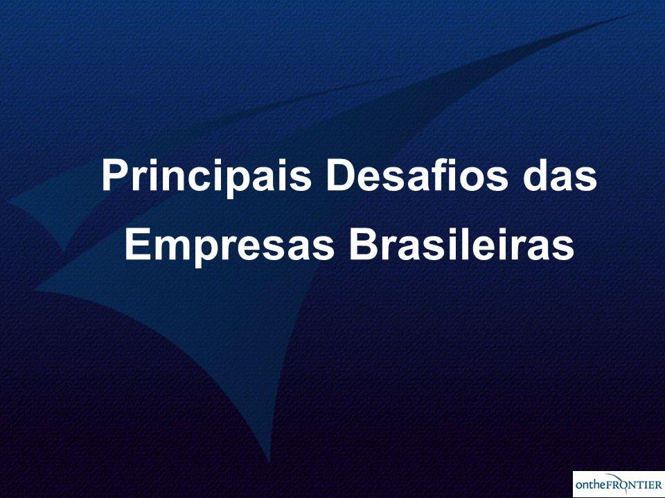 Principais Desafios das Empresas Brasileiras
