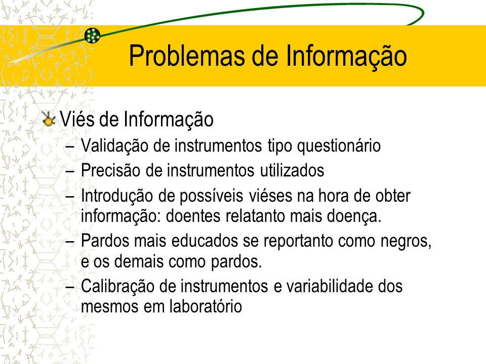 Problemas de Informação