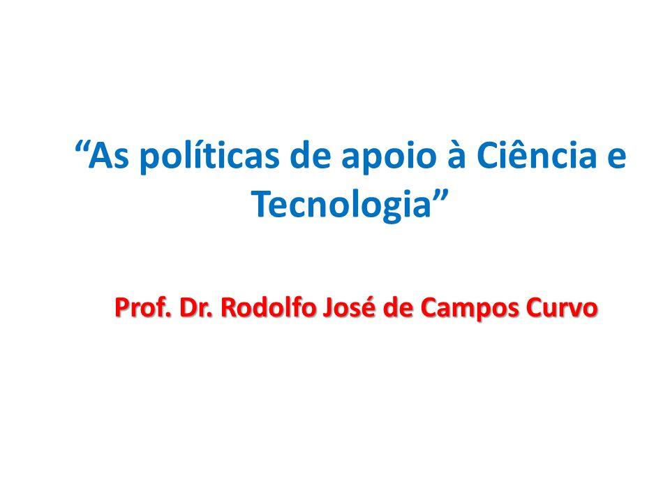 As políticas de apoio à Ciência e Tecnologia