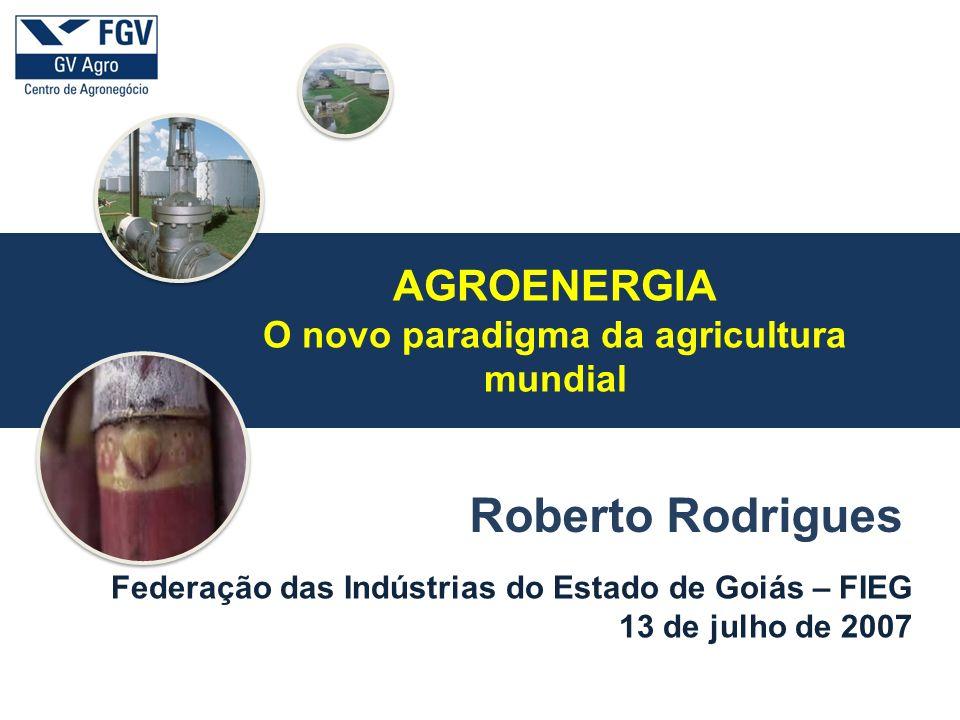 O novo paradigma da agricultura