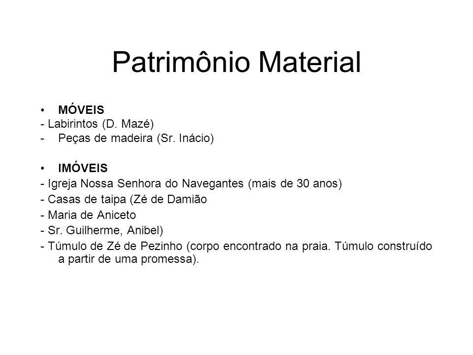 Patrimônio Material MÓVEIS - Labirintos (D. Mazé)