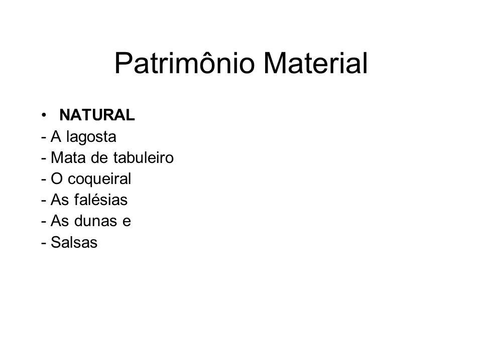 Patrimônio Material NATURAL - A lagosta - Mata de tabuleiro