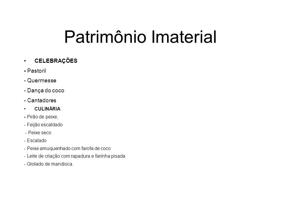 Patrimônio Imaterial CELEBRAÇÕES - Pastoril - Quermesse