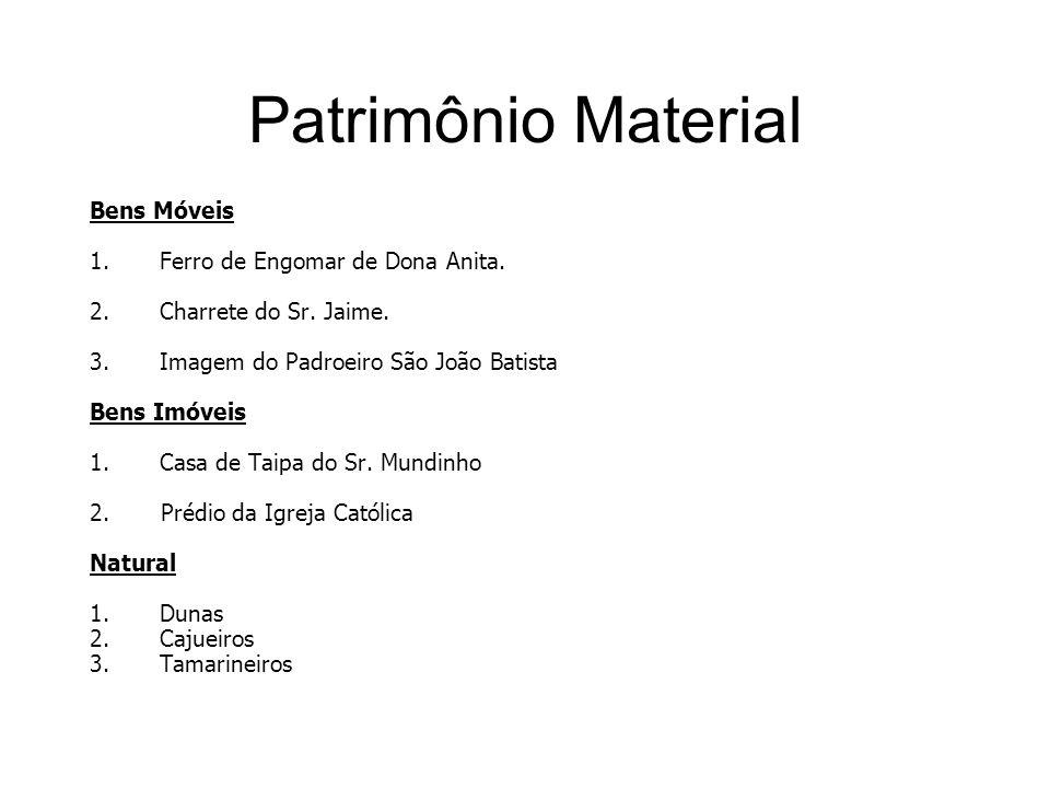 Patrimônio Material Bens Móveis Ferro de Engomar de Dona Anita.