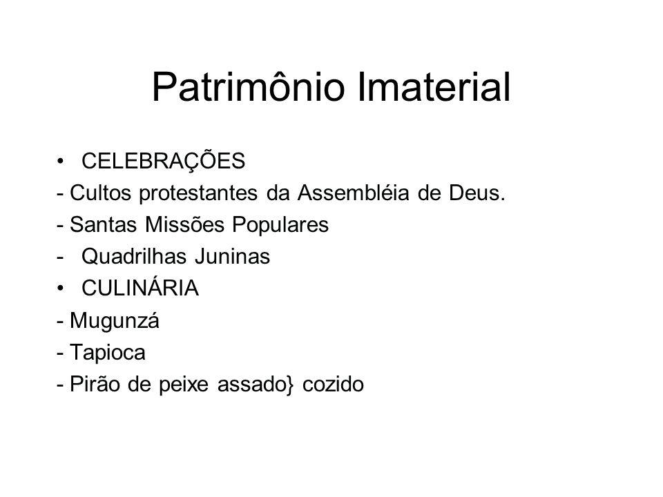 Patrimônio Imaterial CELEBRAÇÕES