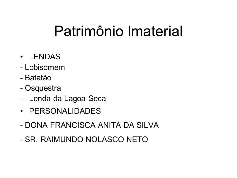 Patrimônio Imaterial LENDAS - Lobisomem - Batatão - Osquestra