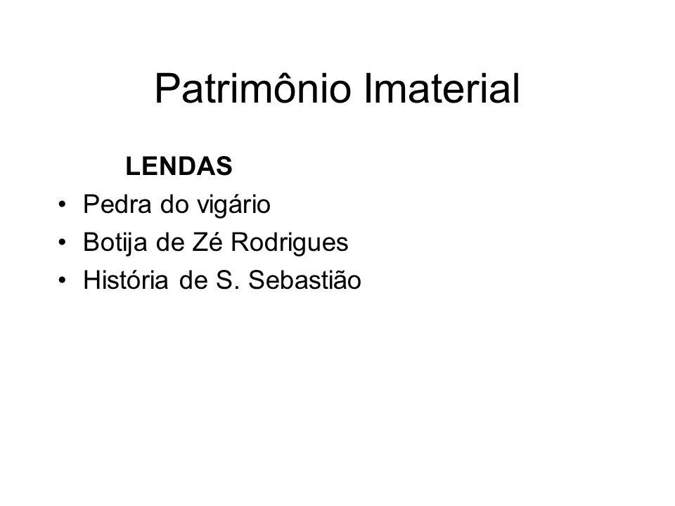 Patrimônio Imaterial LENDAS Pedra do vigário Botija de Zé Rodrigues