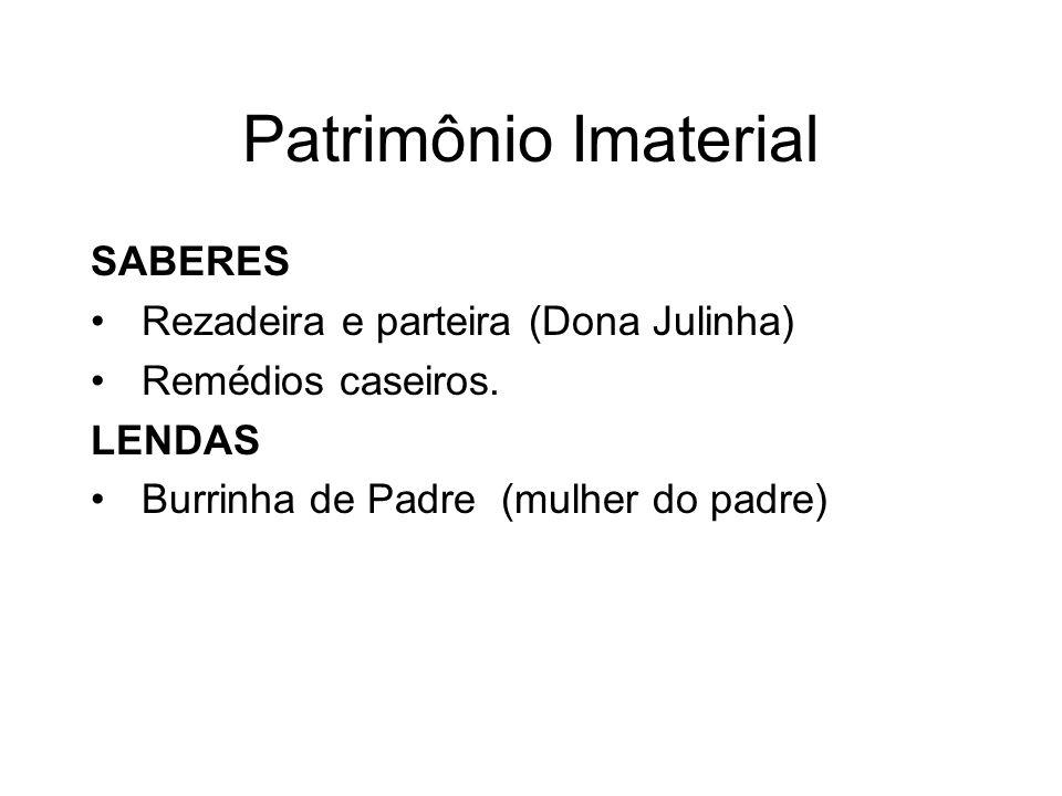 Patrimônio Imaterial SABERES Rezadeira e parteira (Dona Julinha)